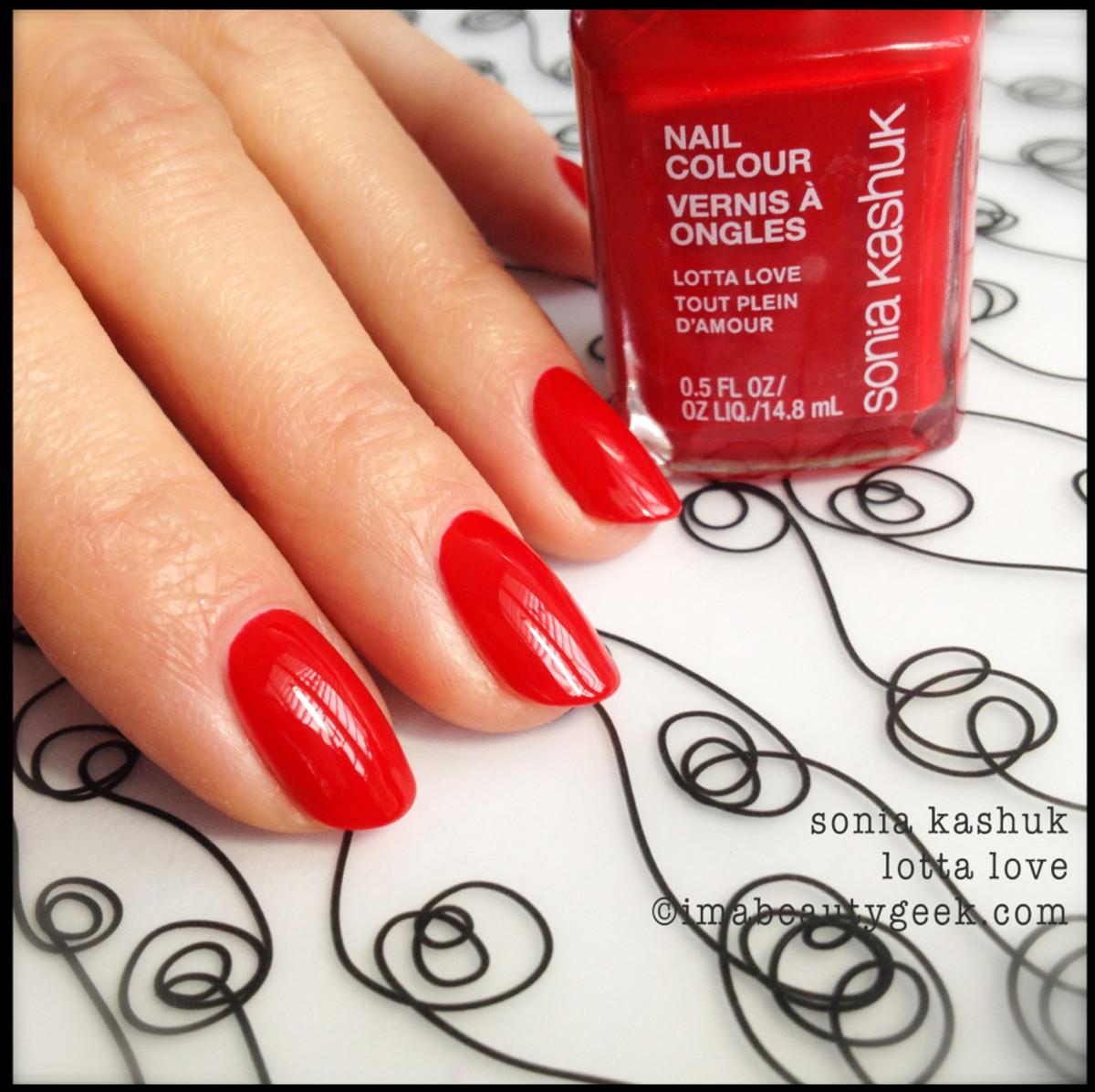 Sonia Kashuk Lotta Love_Sonia Kashuk nail polish Spring 2014