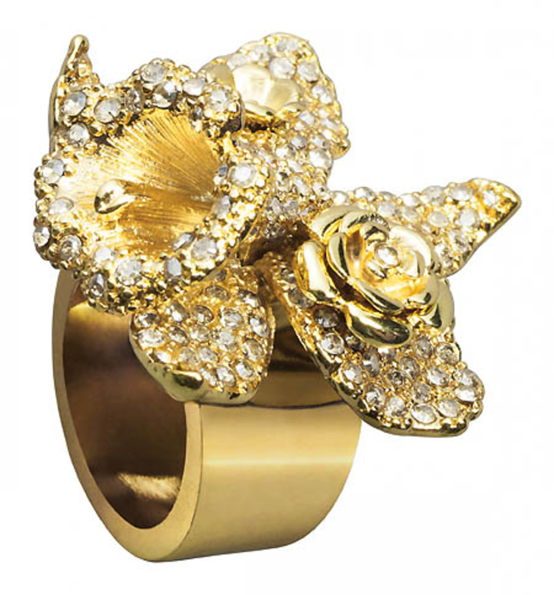 Versace for H&M gold ring