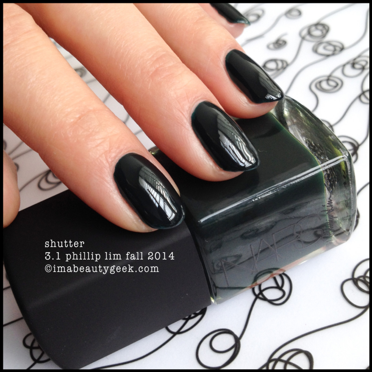 NARS polish Shutter 3.1 Phillip Lim Fall 2014