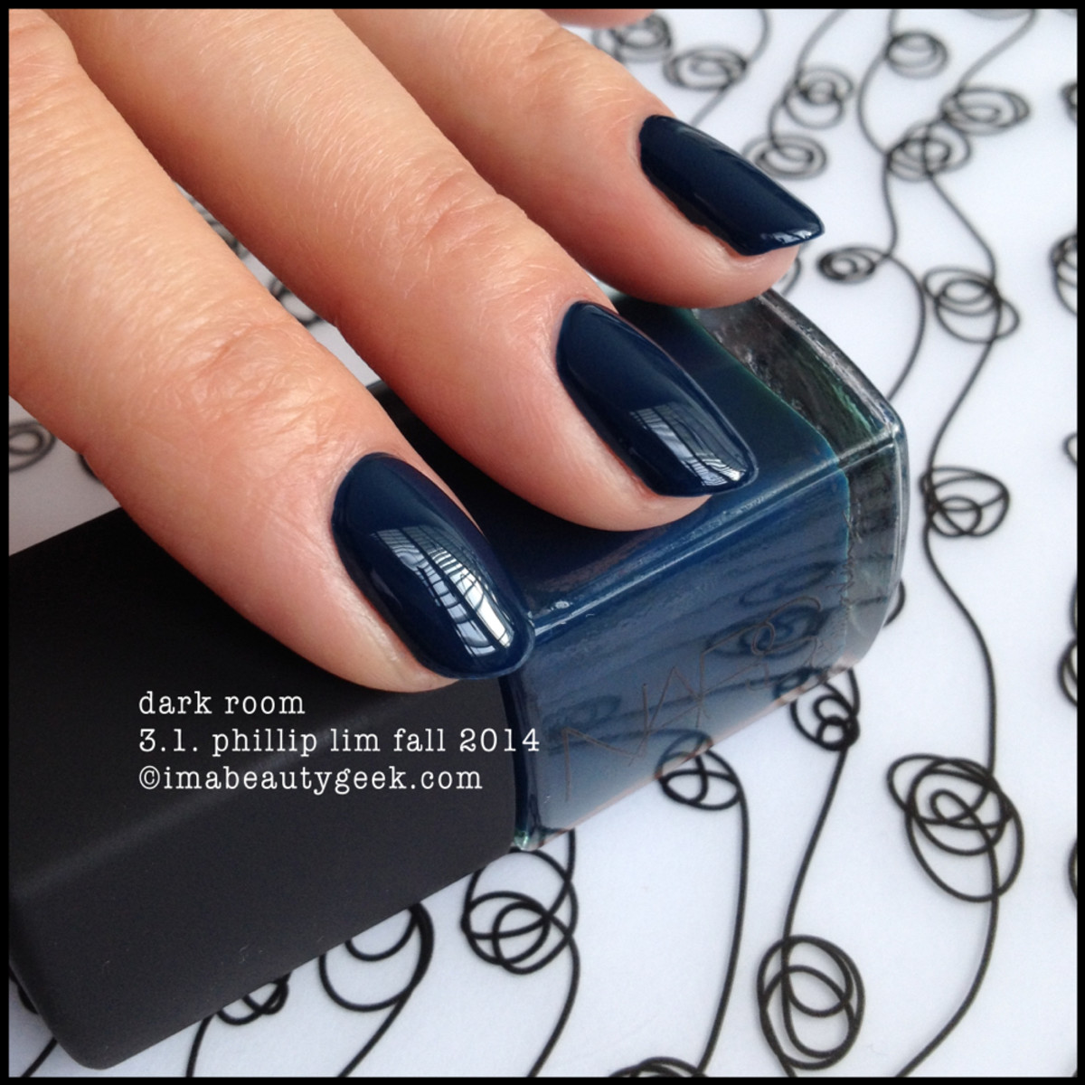 NARS polish Dark Room 3.1 Phillip Lim Fall 2014
