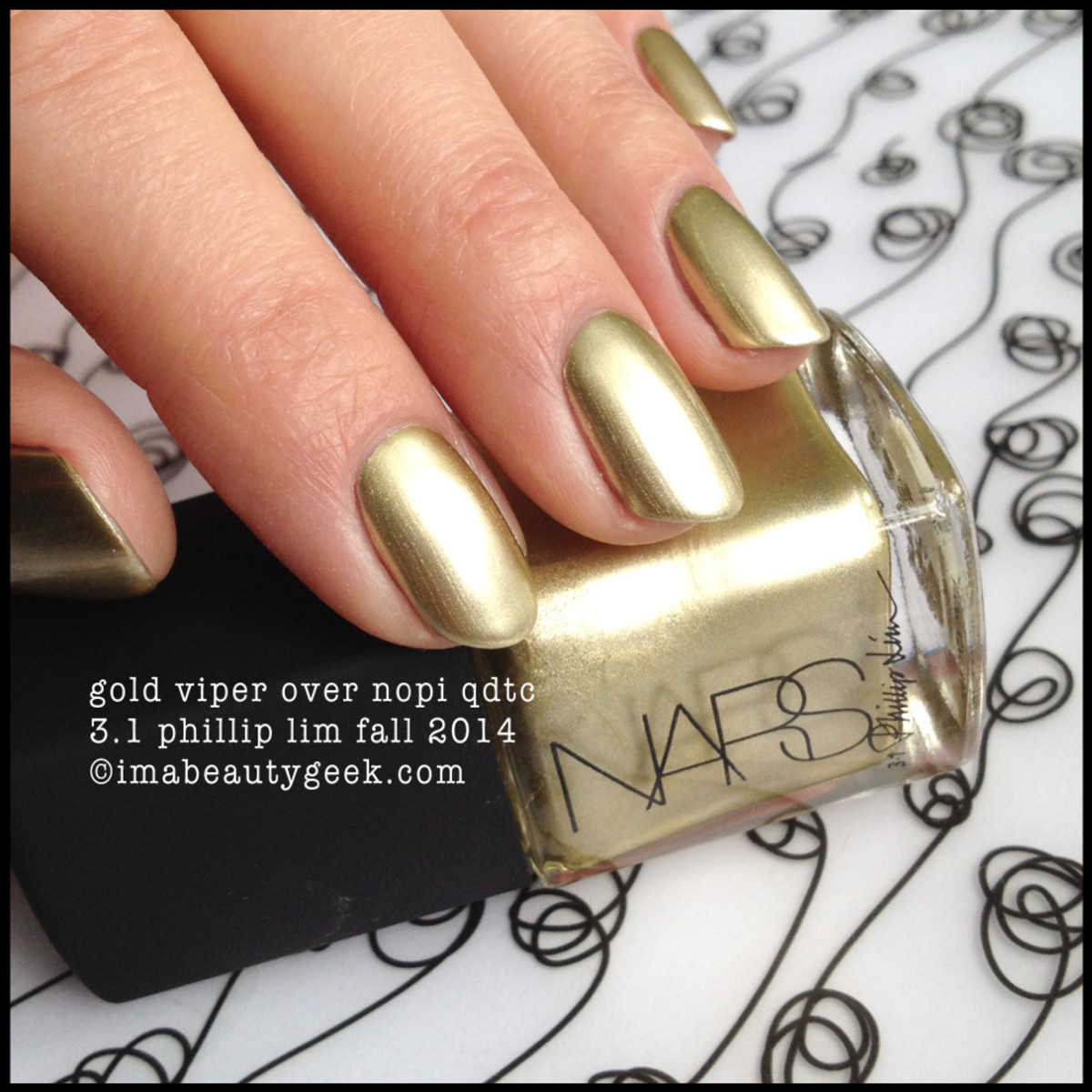 NARS polish Gold Viper 3.1 Phillip Lim Fall 2014