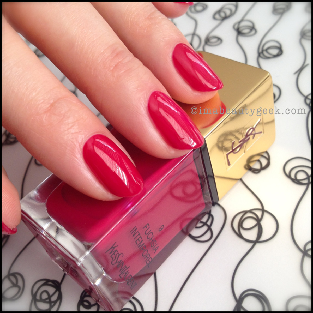 YSL Fuchsia Intemporel 9_YSL polish