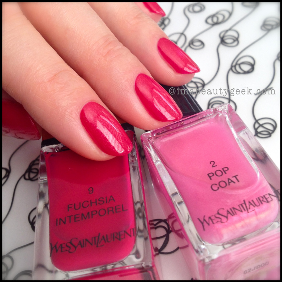 YSL Fuchsia Intemporel 9 YSL Pop Coat 2_YSL Polish