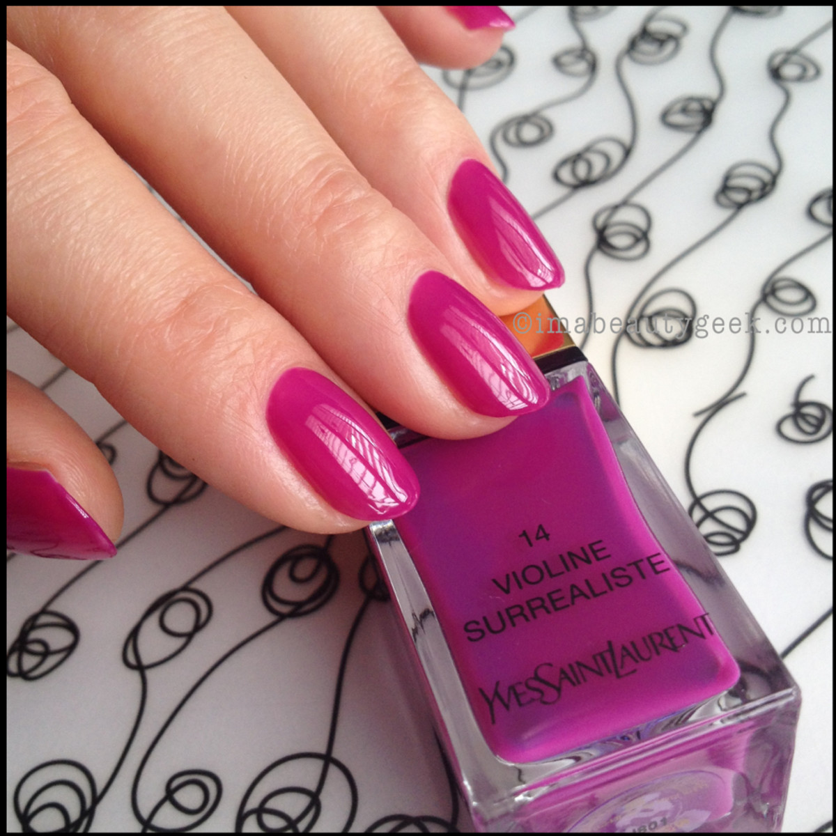 YSL Polish: La Laque Couture Spring 2014 + Gorgeous Core Shades ...