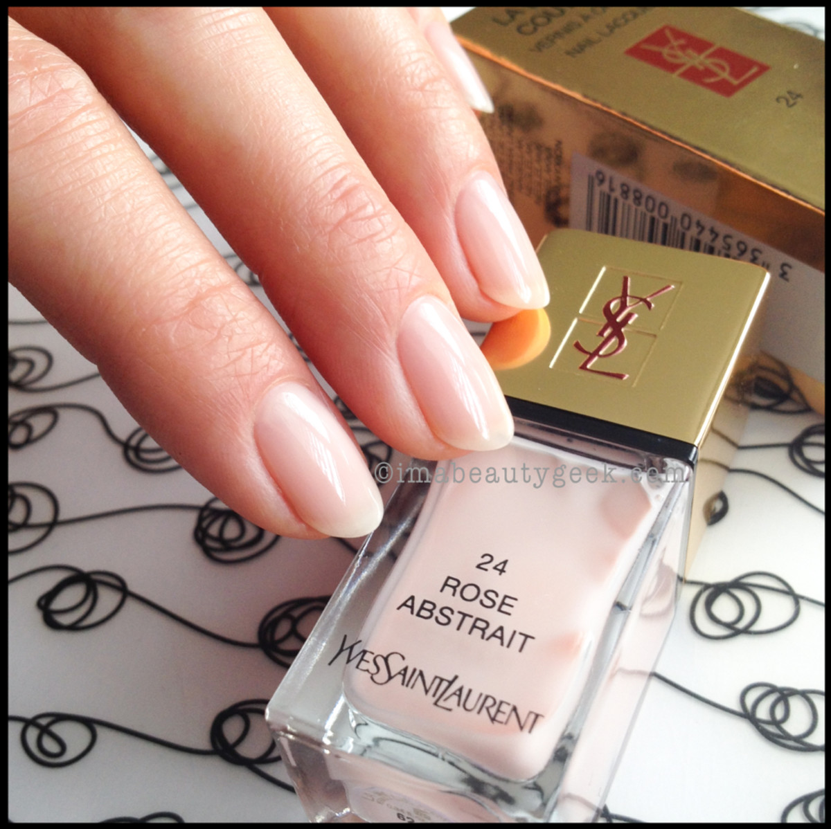 YSL Rose Abstrait 24 YSL La Laque 24_YSL Polish