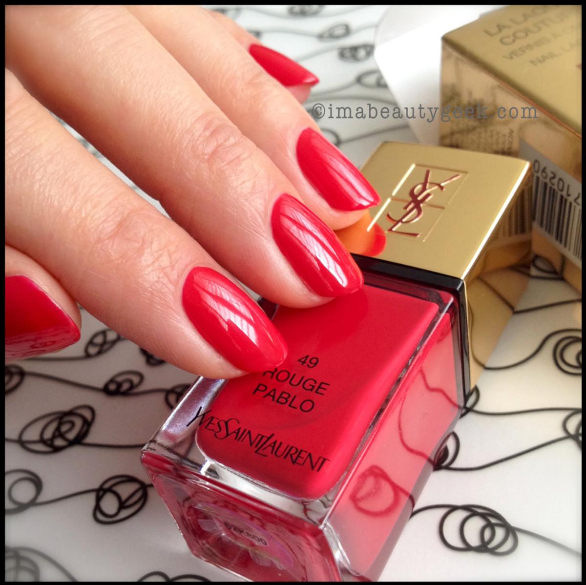 YSL Rouge Pablo 49_YSL polish