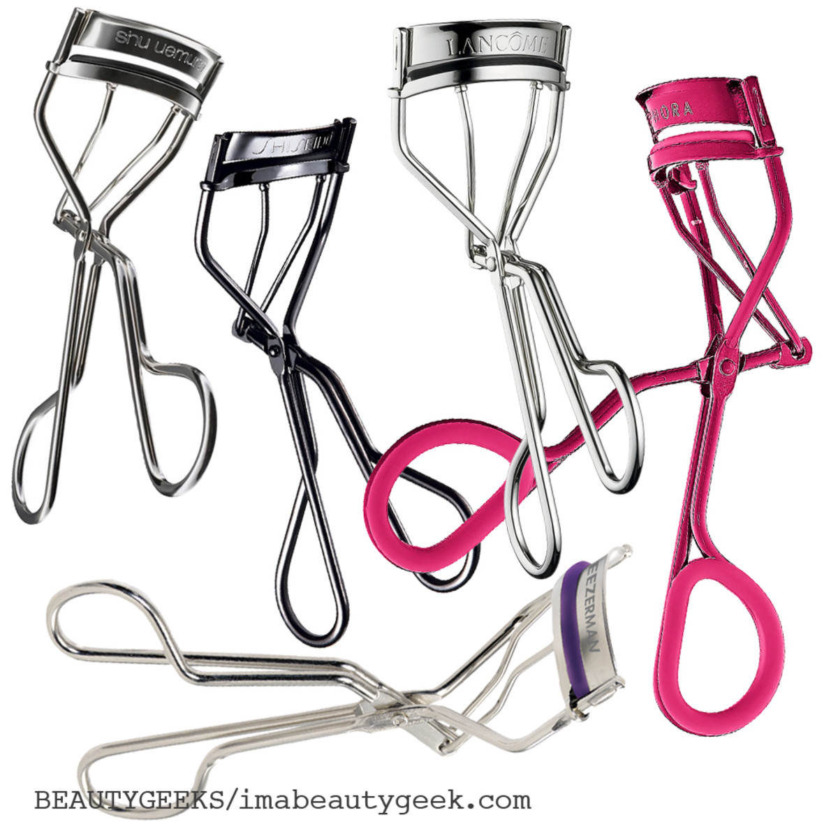 Beautygeeks favourite eyelash curlers.