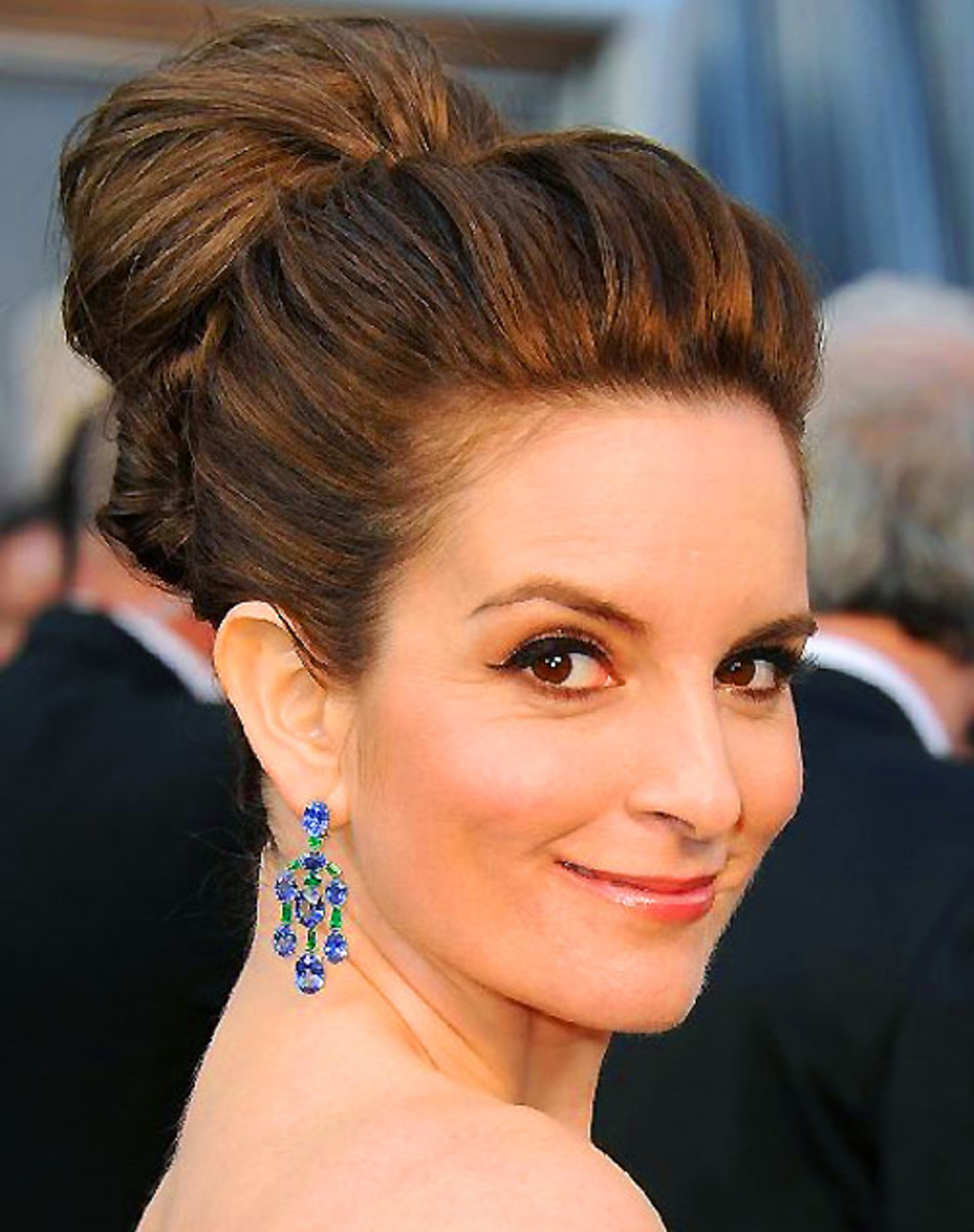 Tina Fey_2012 Academy Awards red carpet