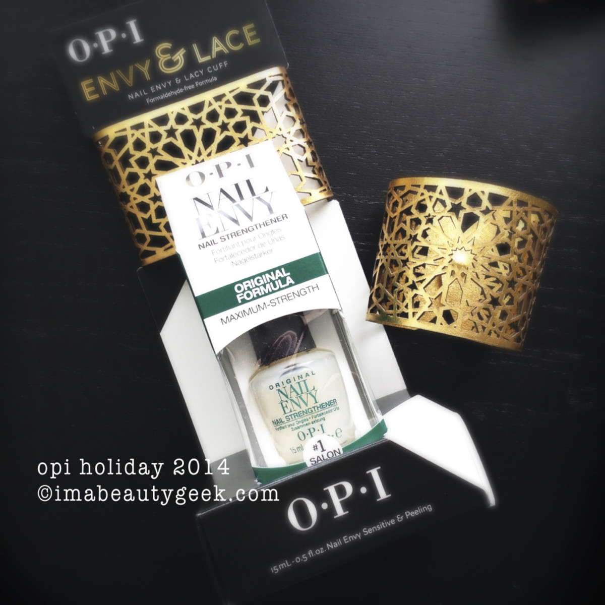 OPI Envy and Lace_2