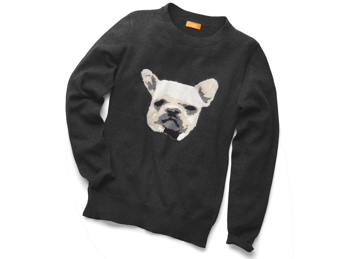Joe Fresh bulldog sweater