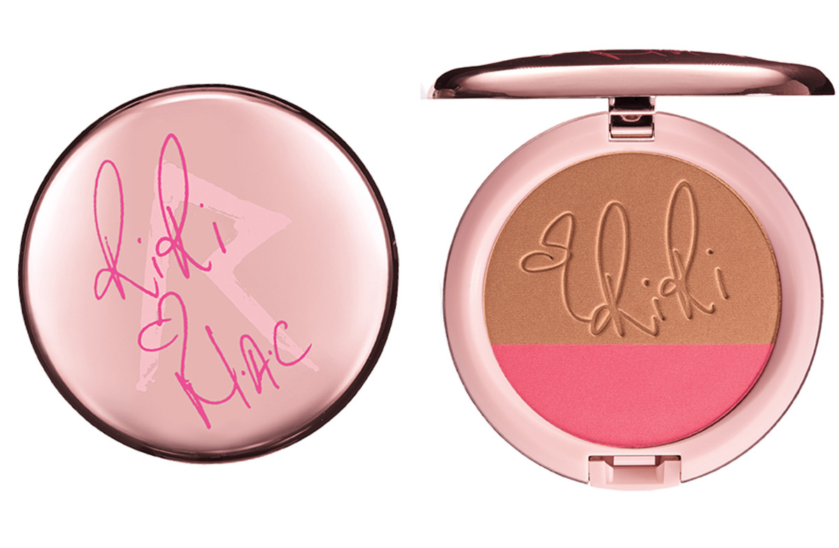 RiRi hearts MAC_Rihanna MAC Fall_Powder Blush Duo in Hibiscus Kiss