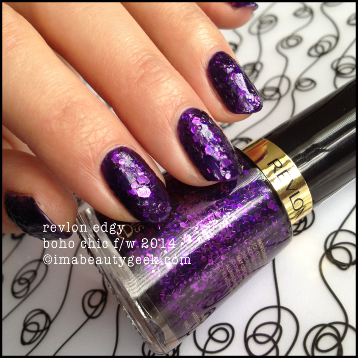 Revlon Boho Chic Limited Edition Edgy no top coat
