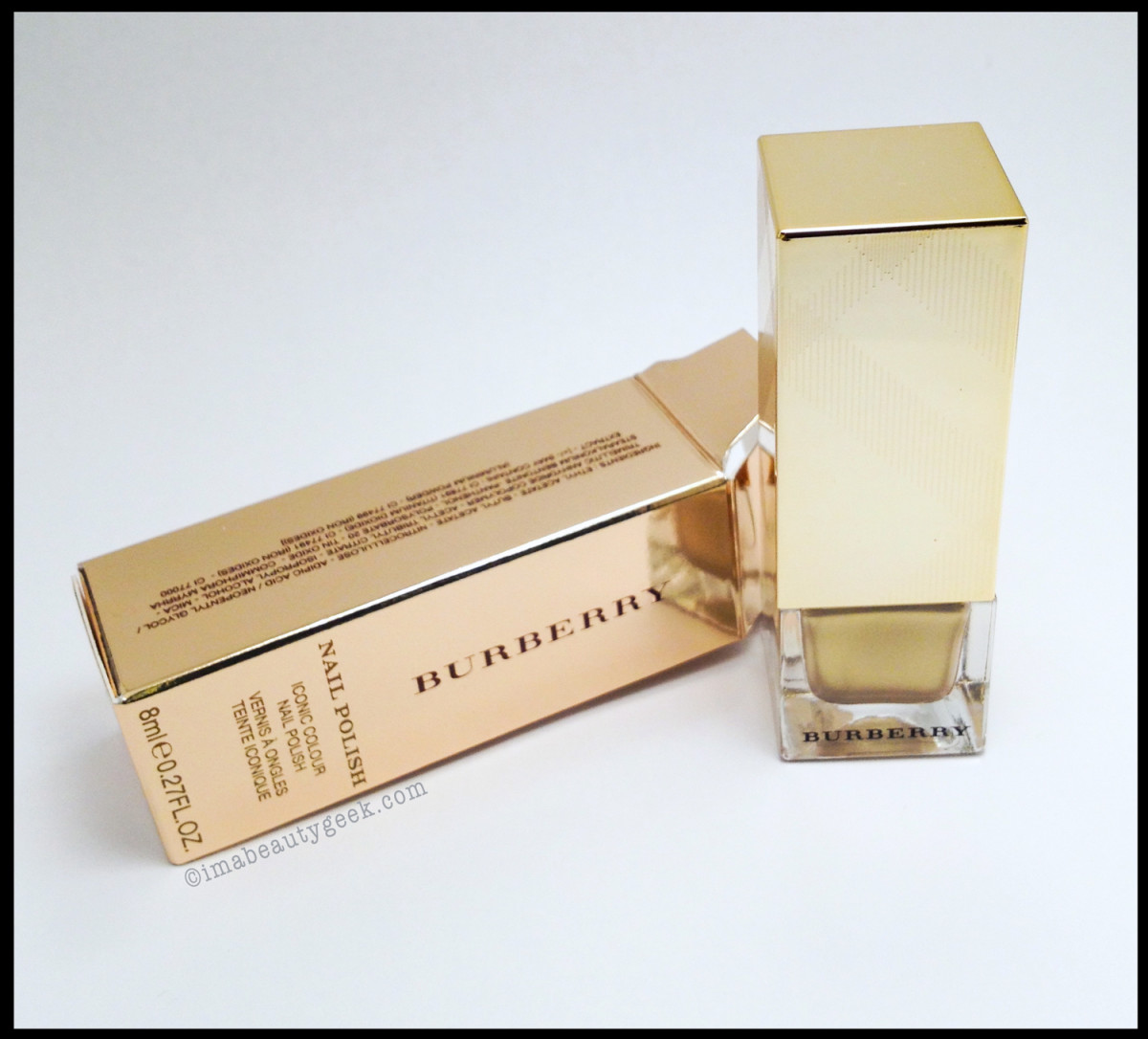 Burberry Light Gold 107