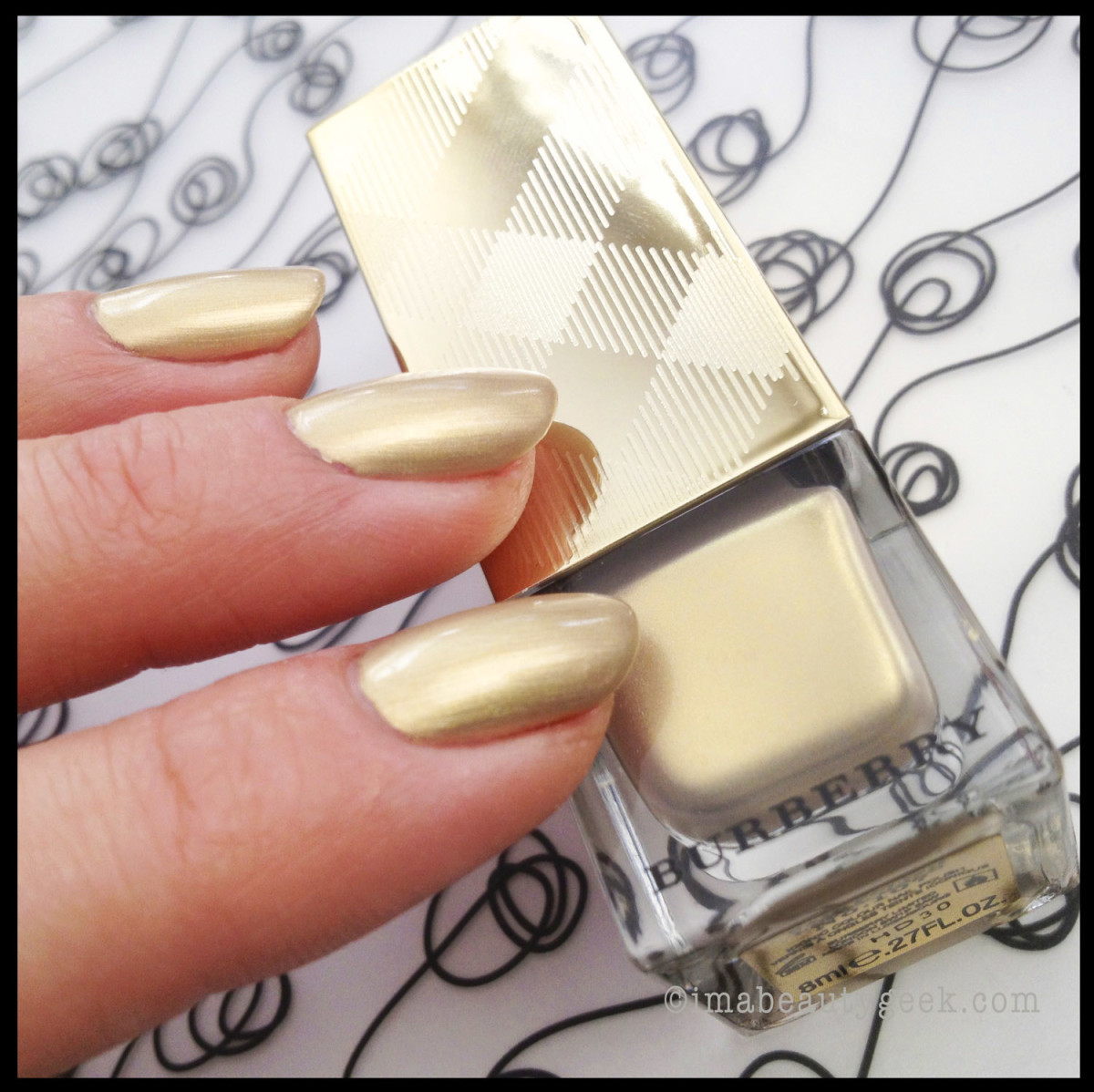 Burberry-Light-Gold-107 imprecise cuticles_grrr inflexible brush_cleanup via brush and acetone required