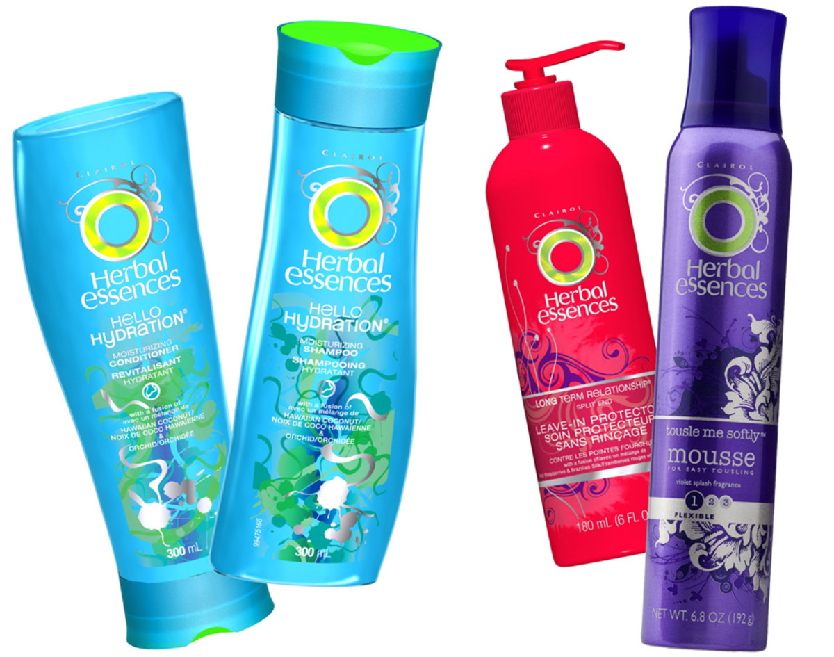 Leighton Meester's Herbal Essences favourites