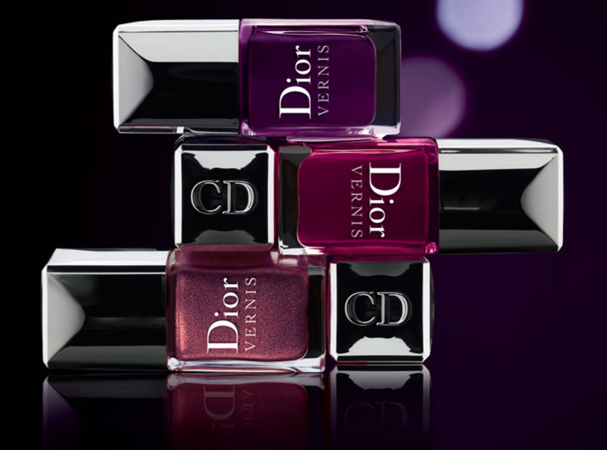 Dior Les Violets Hypnotiques_nail polish in Shadow 783_Orchid 981_Poison_996