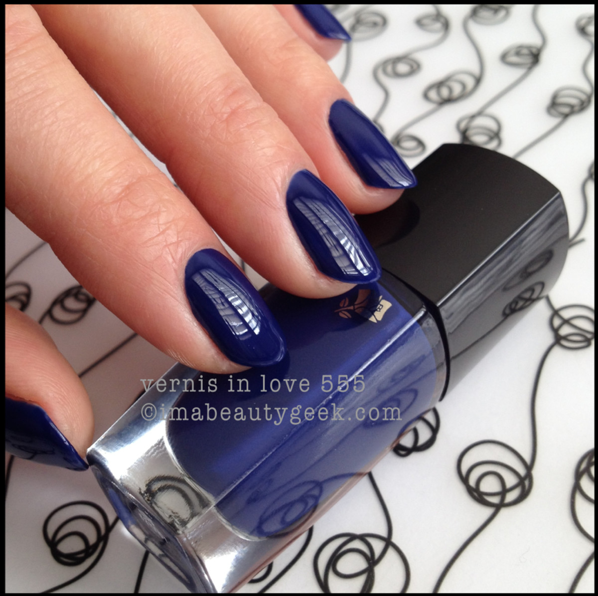 Lancome Nuit D'Azur Vernis in Love 555 Summer 2014