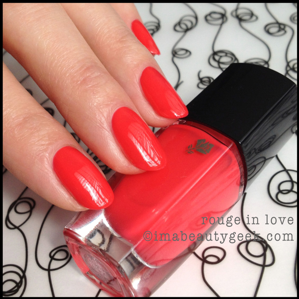 Lancome polish Rouge in Love