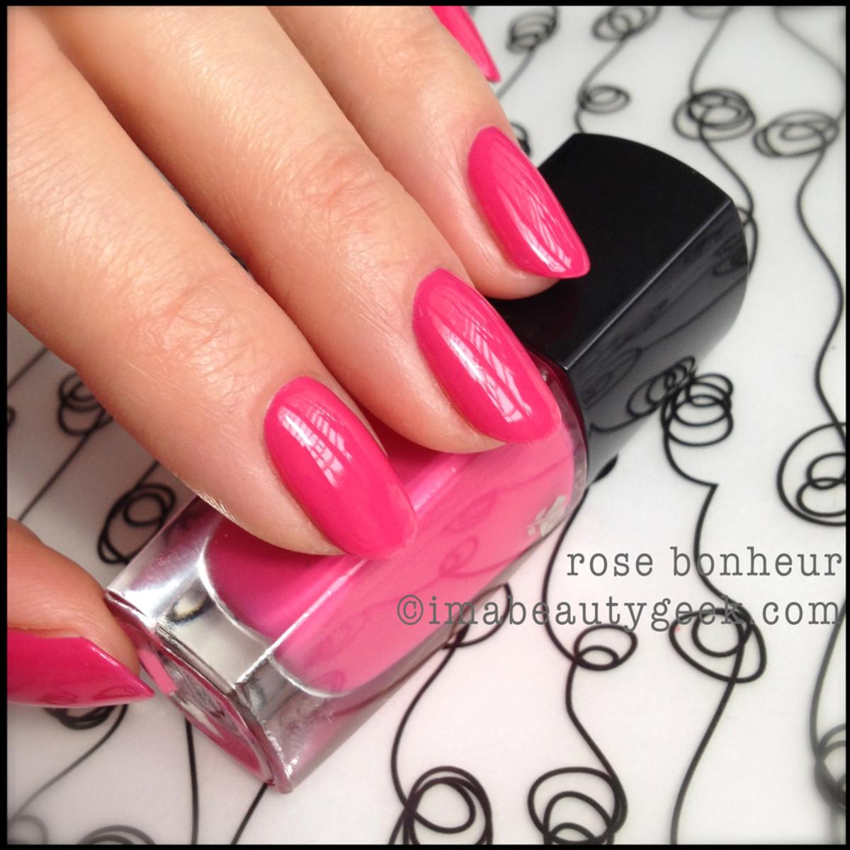 Lancome polish Rose Bonheur
