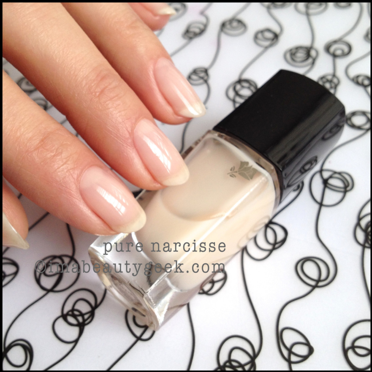 Lancome polish Pure Narcisse