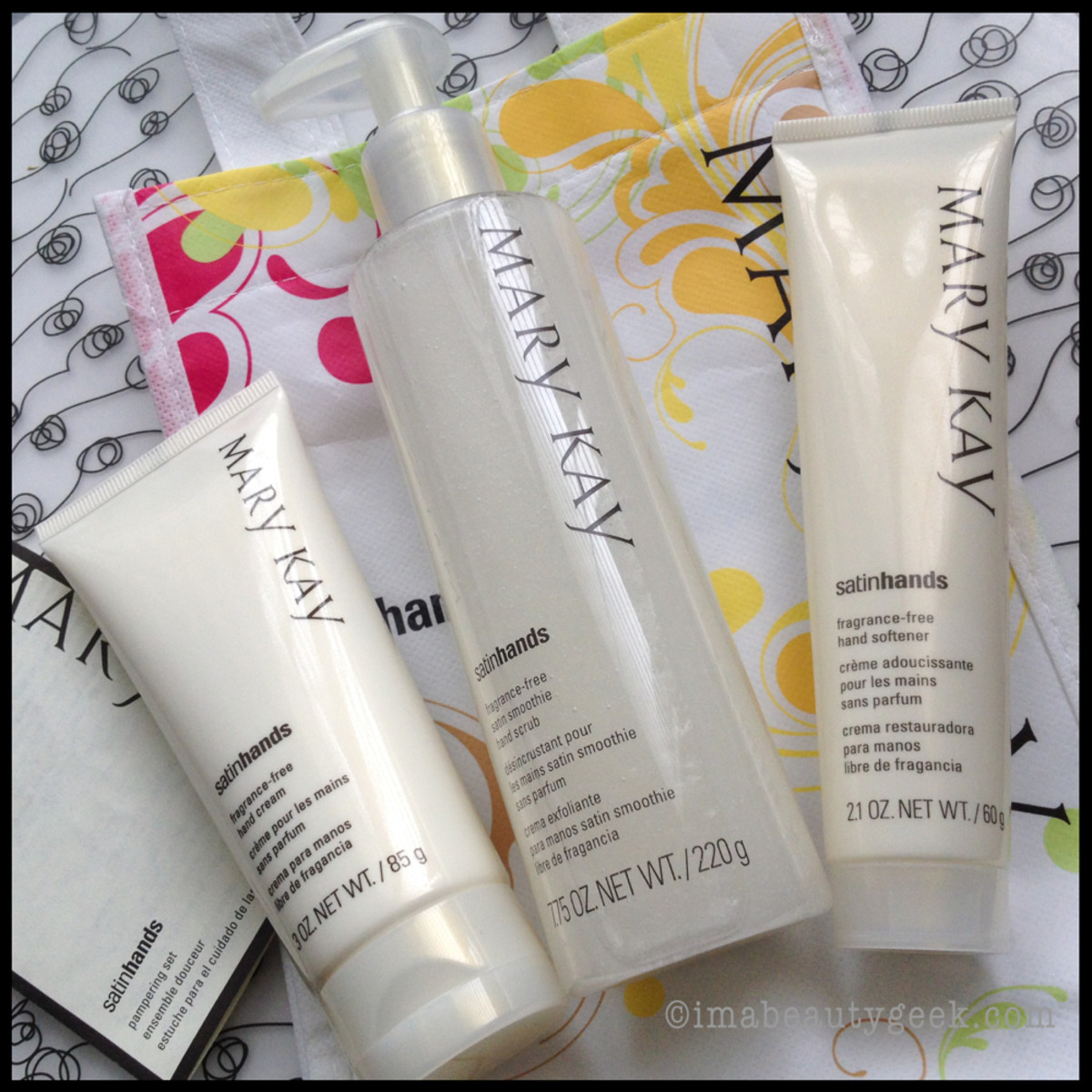 Mary Kay Pampering Set Trio
