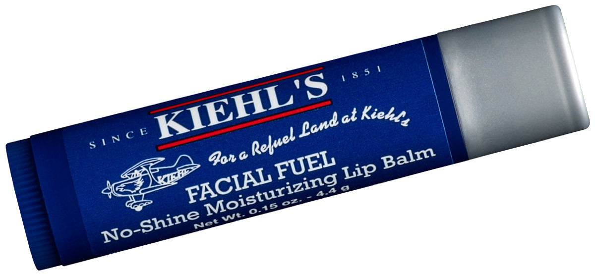 best lip balms for men: kiehl's facial fuel no-shine moisturizing lip balm