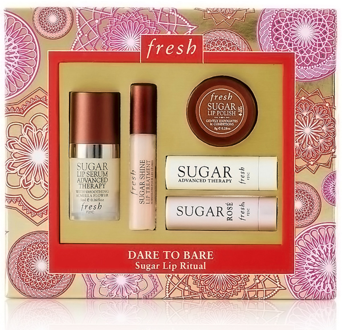 fresh dare to bare sugar lip ritual kit