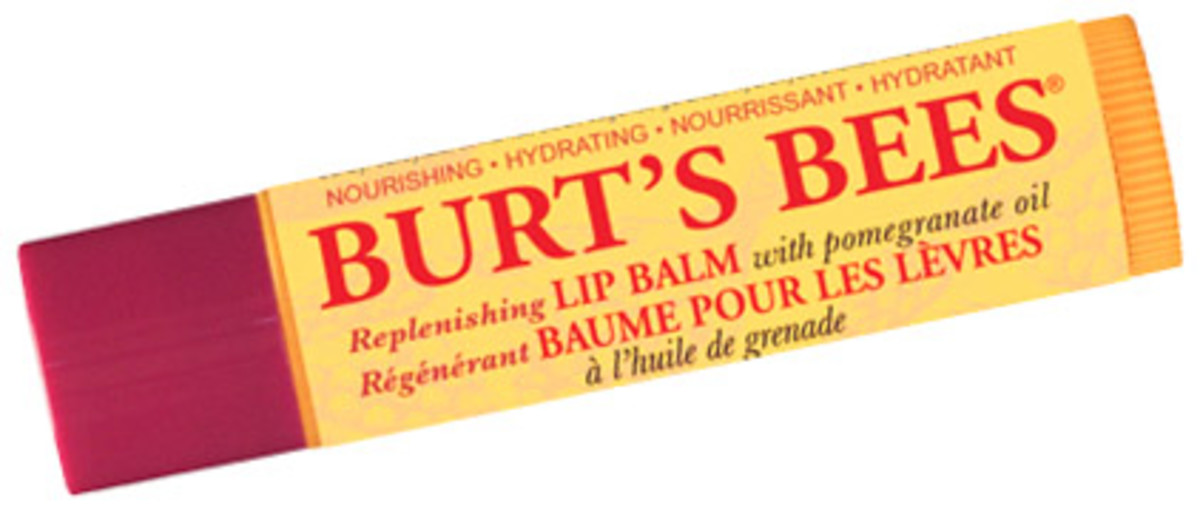best lip balms for men: burt's bees replenishing lip balm -- surprise!