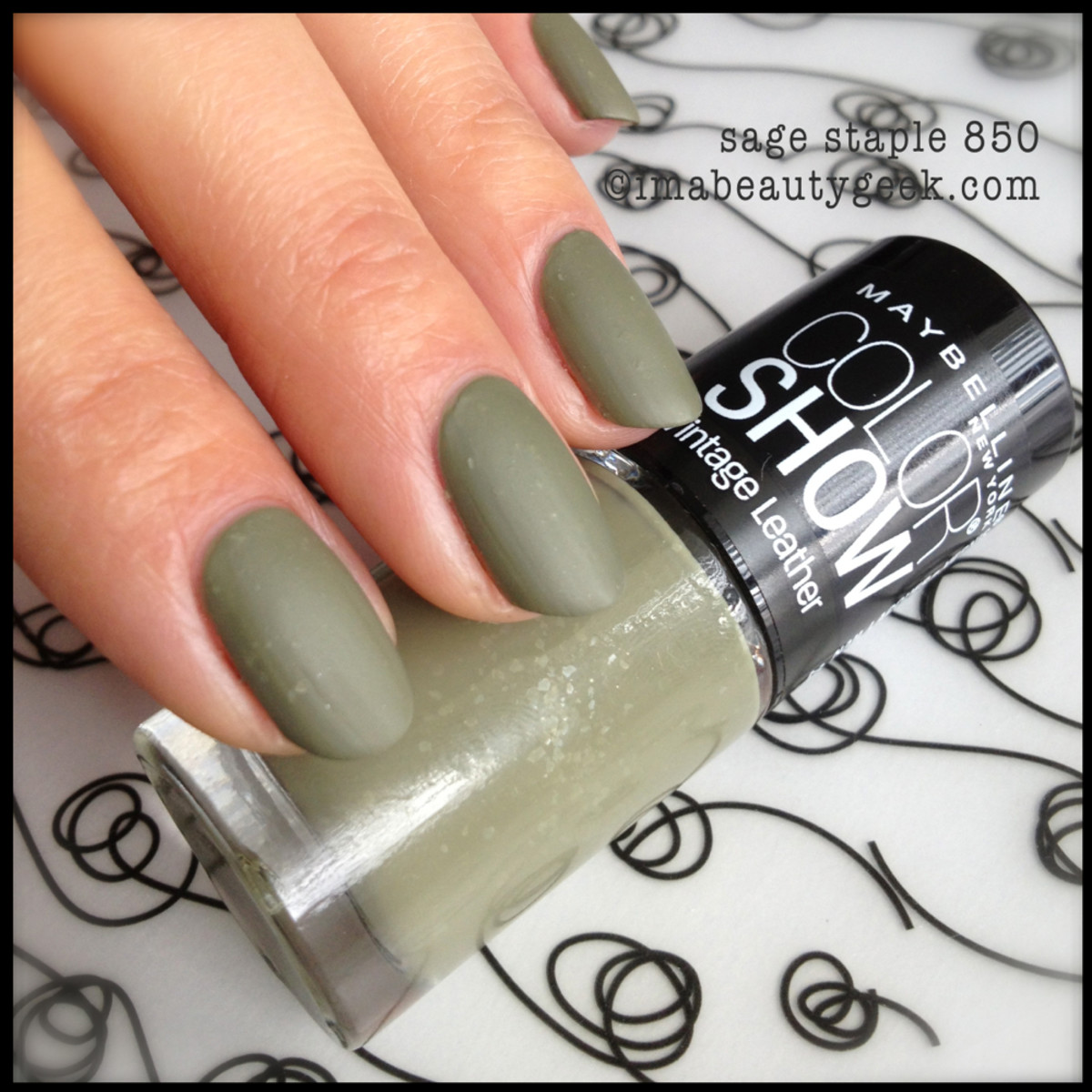 Maybelline Sage Staple - Vintage Leather Collection 2013