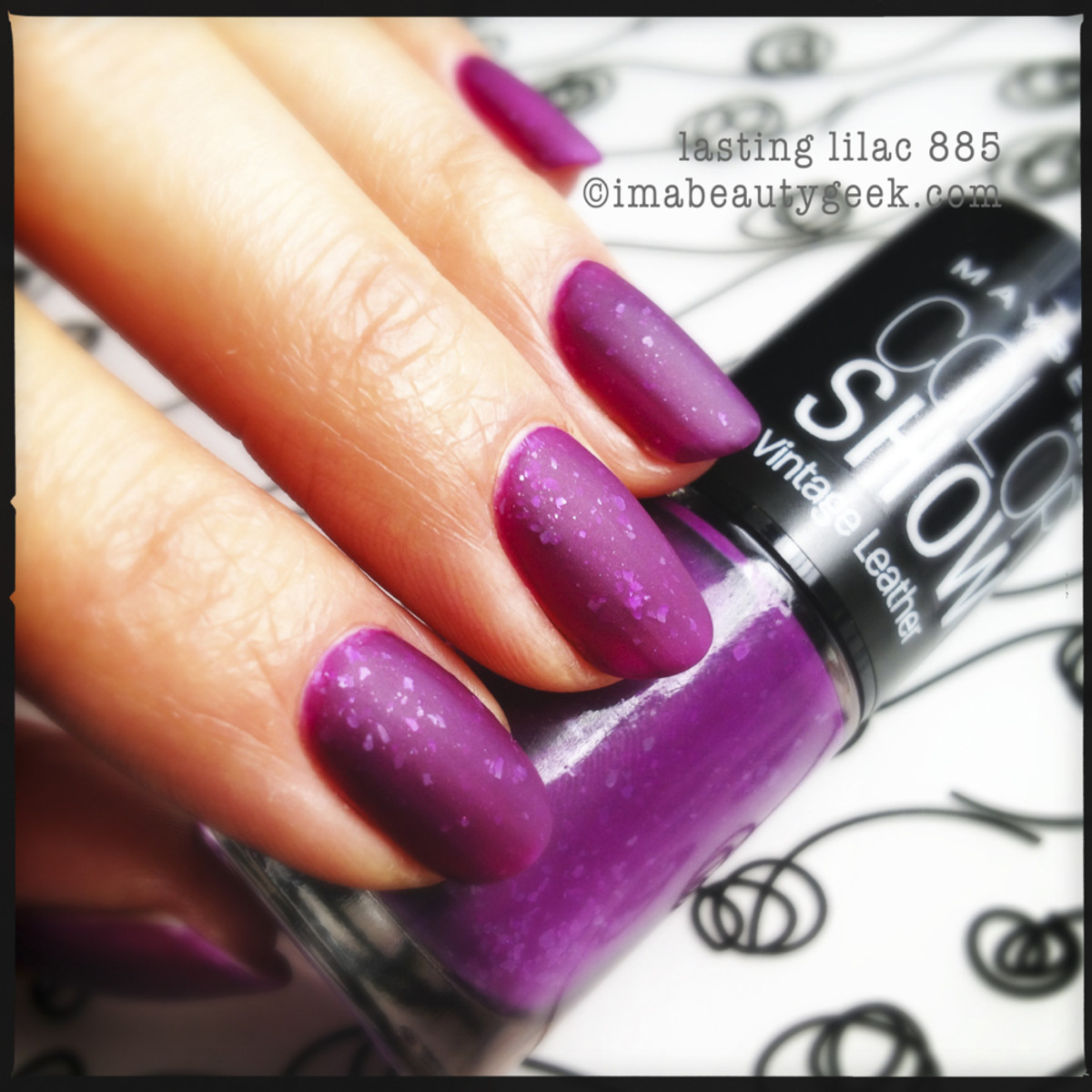 Maybelline Lasting Lilac - Vintage Leather Collection 2013