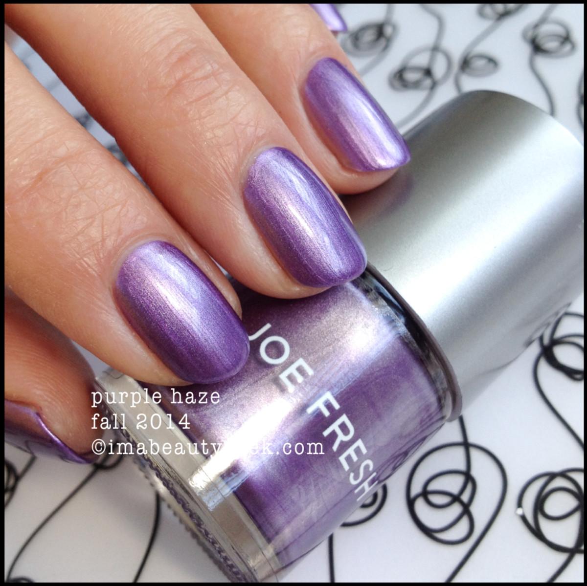 Joe Fresh Polish Purple Haze fall 2014 Beautygeeks