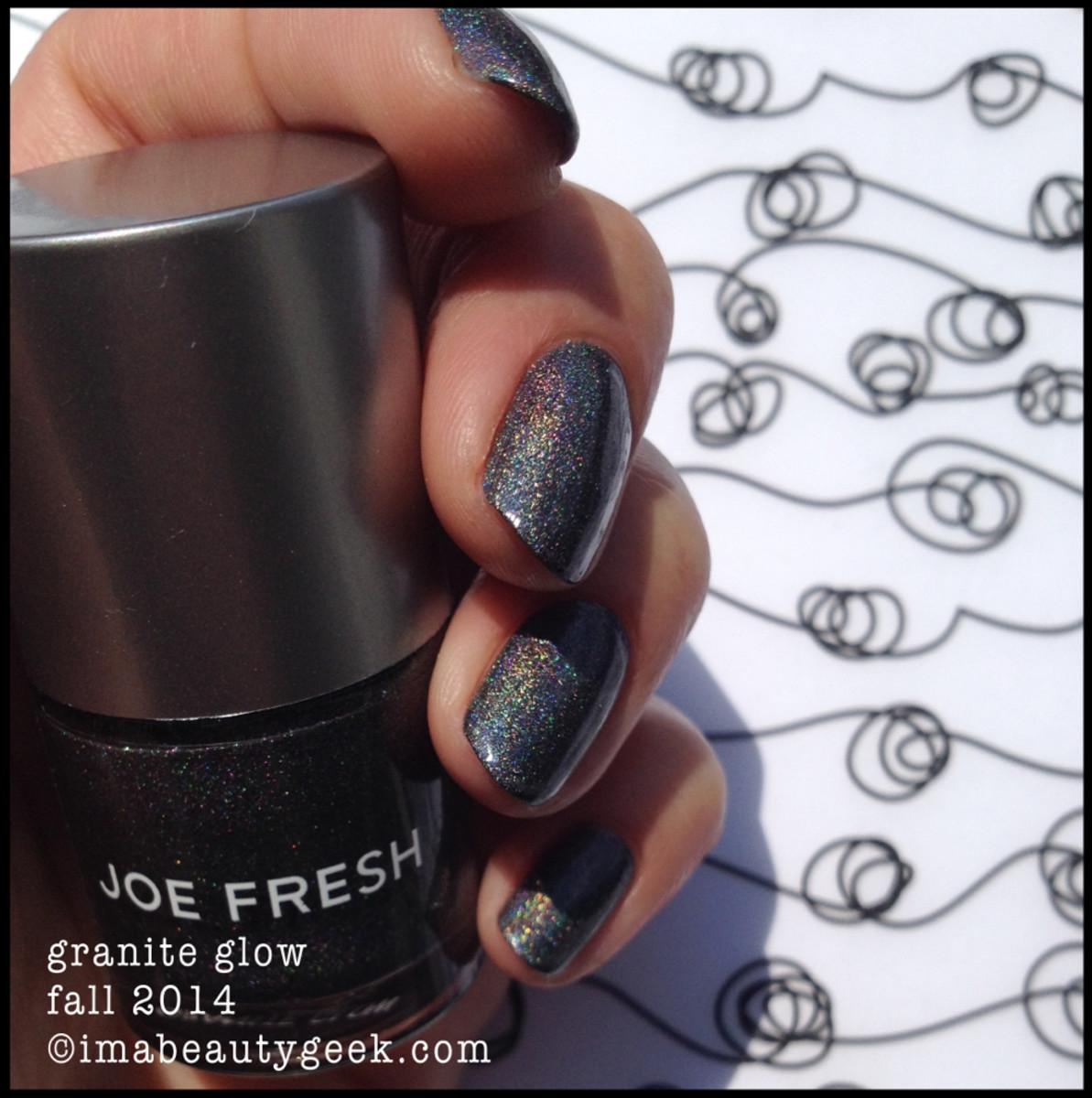 Joe Fresh Polish Granite Glow Fall2014