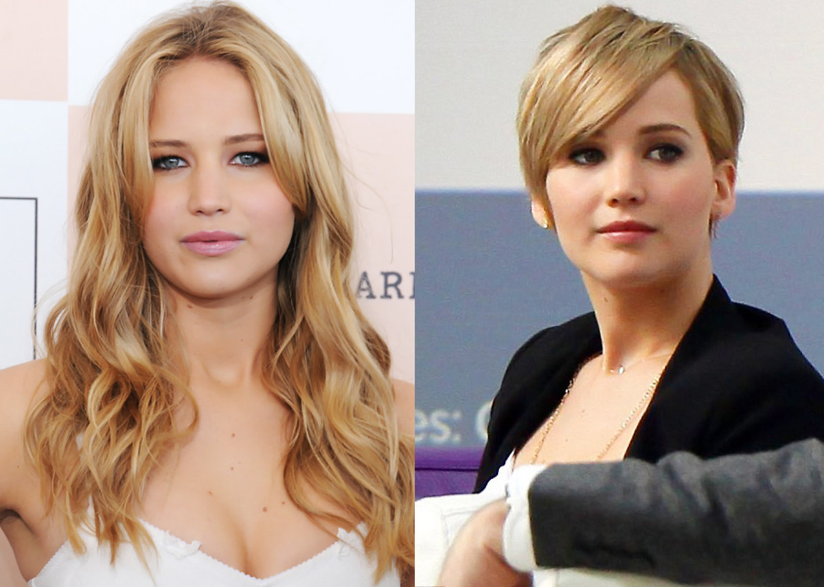 Jennifer Lawrence short hair_yes or no or maybe