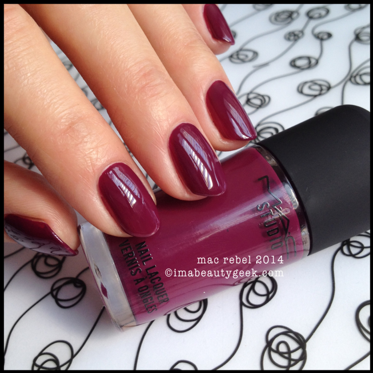 MAC Rebel nail 2014