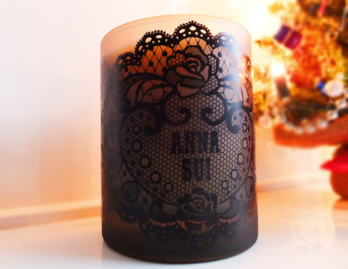 Anna Sui Holiday Candle_2012
