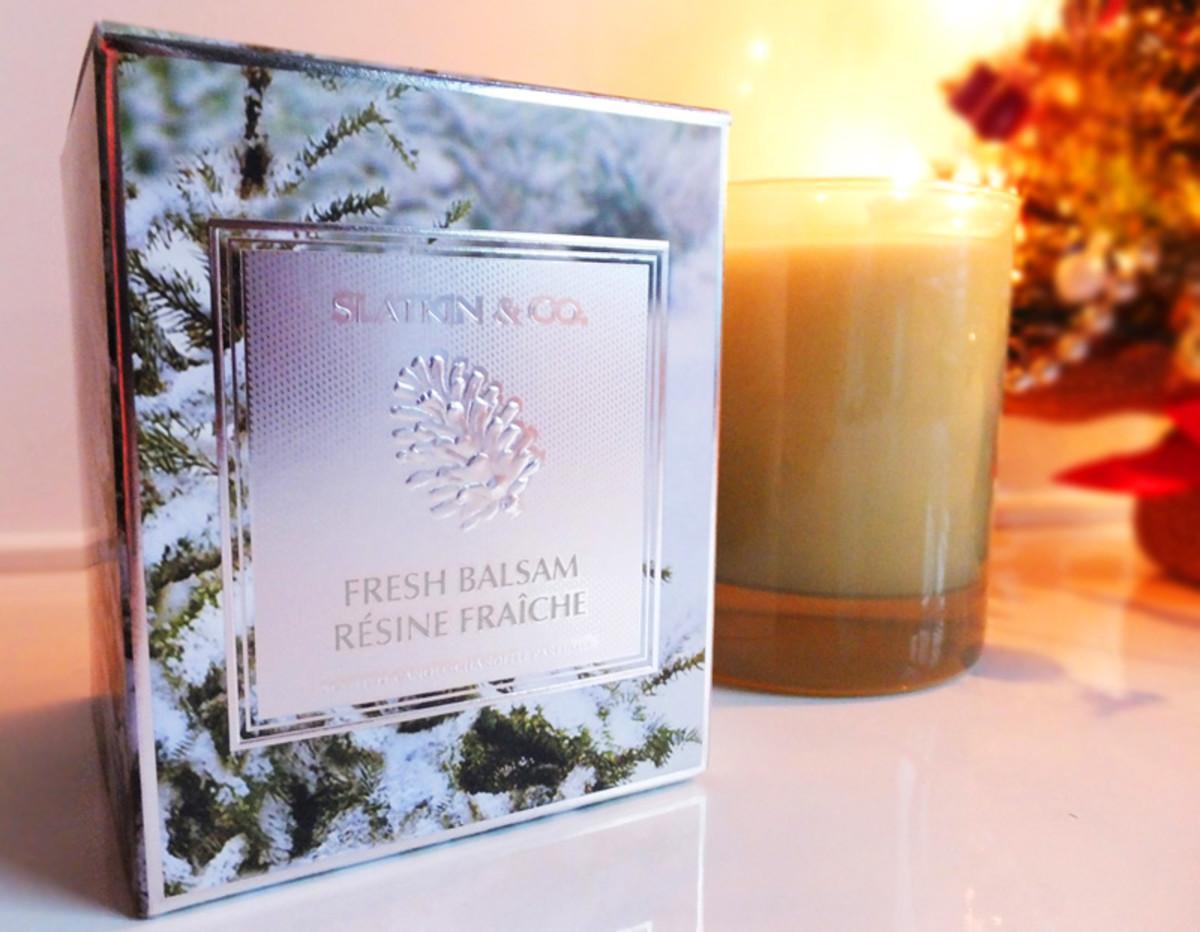 Bath & BodyWorks_Slatkin & Co. Fresh Balsam candle