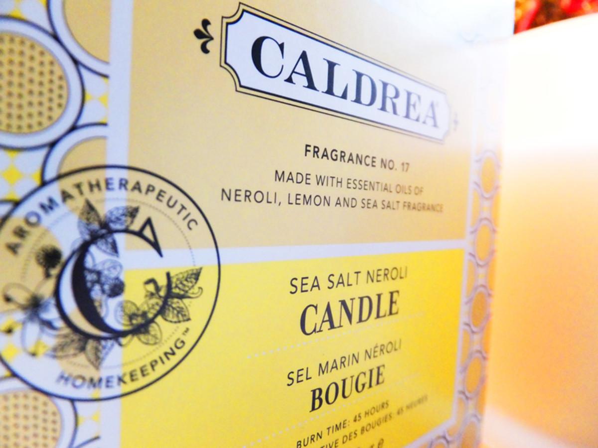 Caldrea Sea Salt Neroli candle_La Merceria