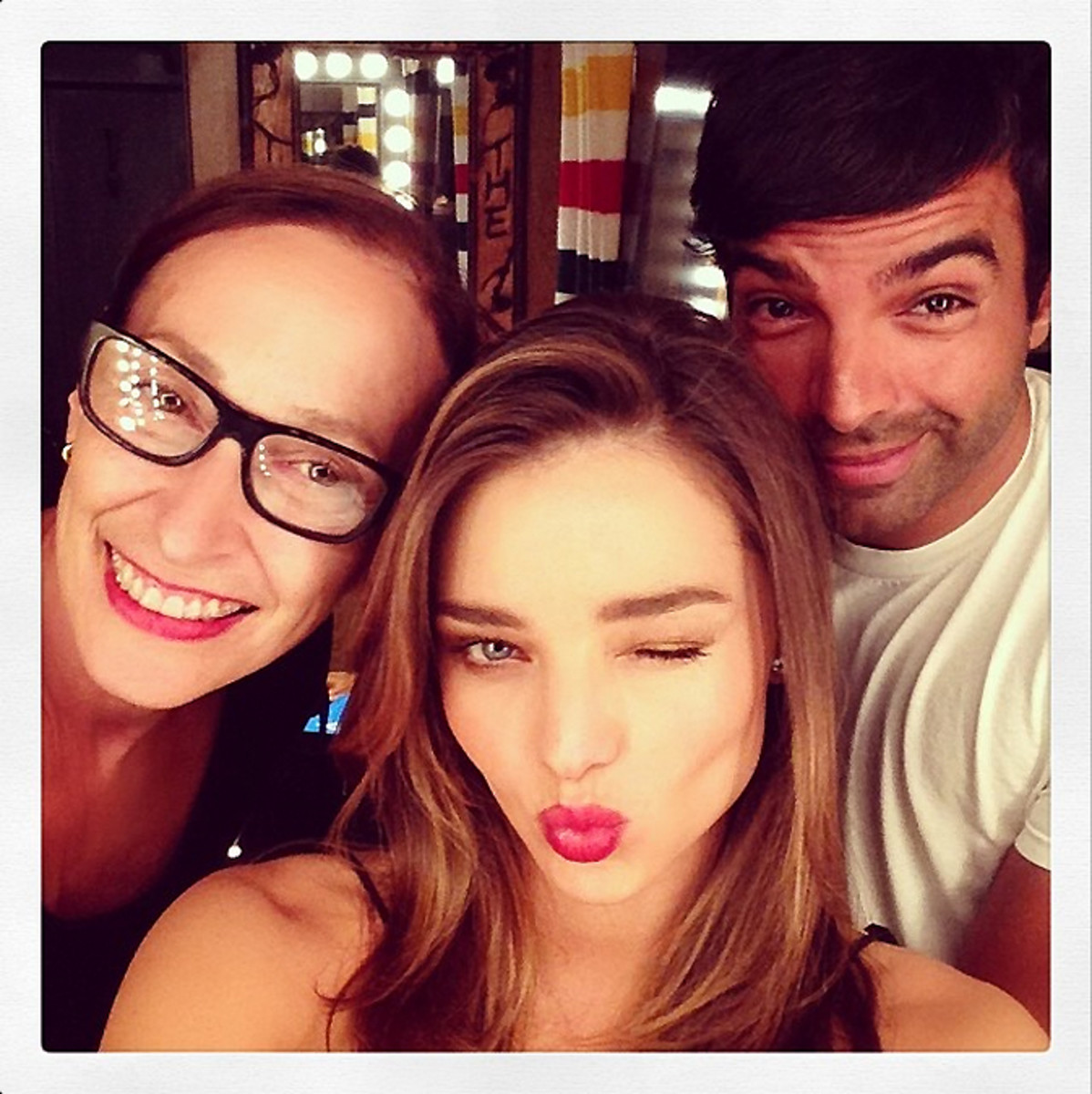 Miranda Kerr's power smoothie (Miranda Kerr with Rose Marie Swift and Harry Josh)