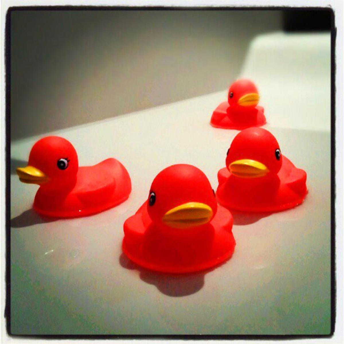 Target Hotel_duckies