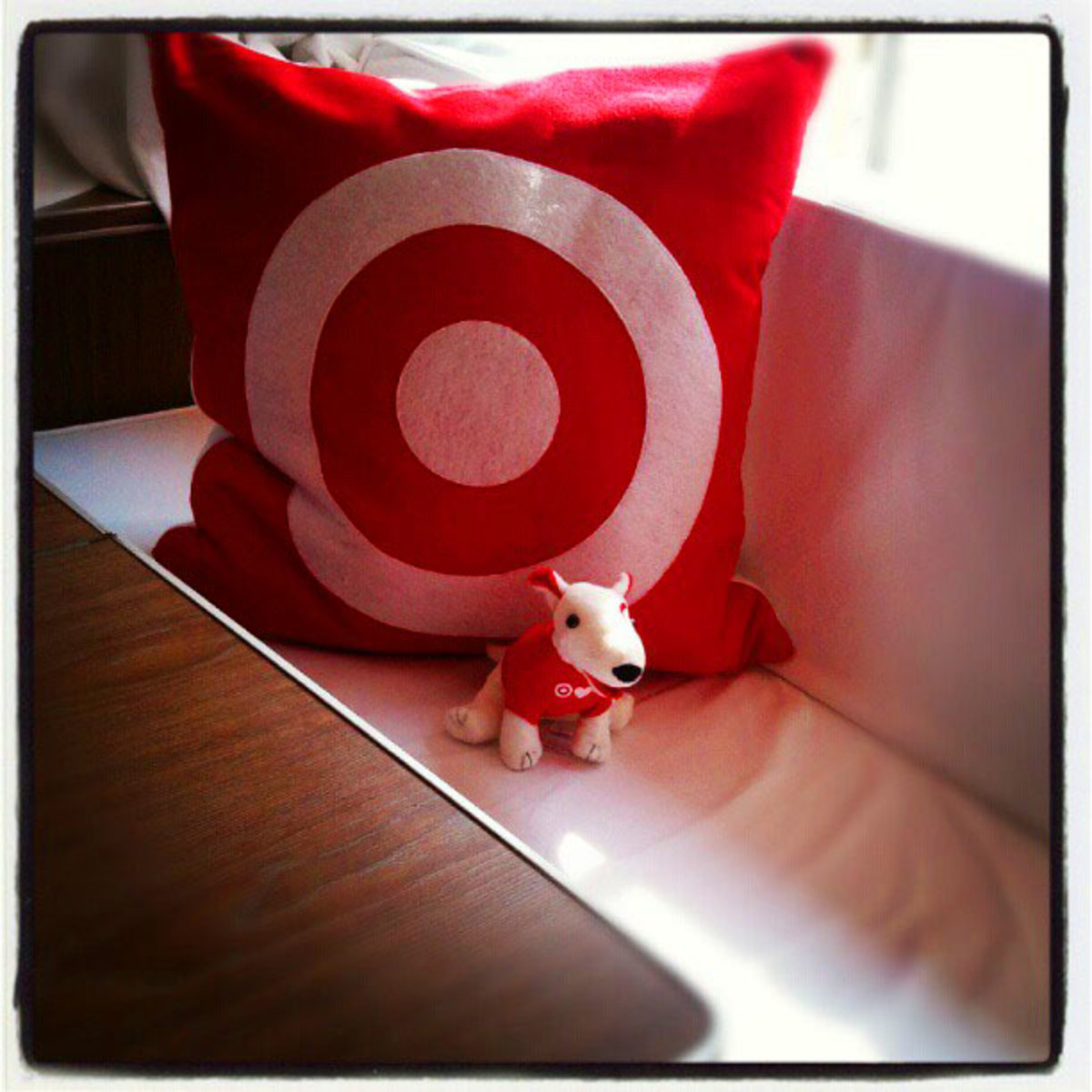 Target Hotel_Airstream and Bullseye mascot toy