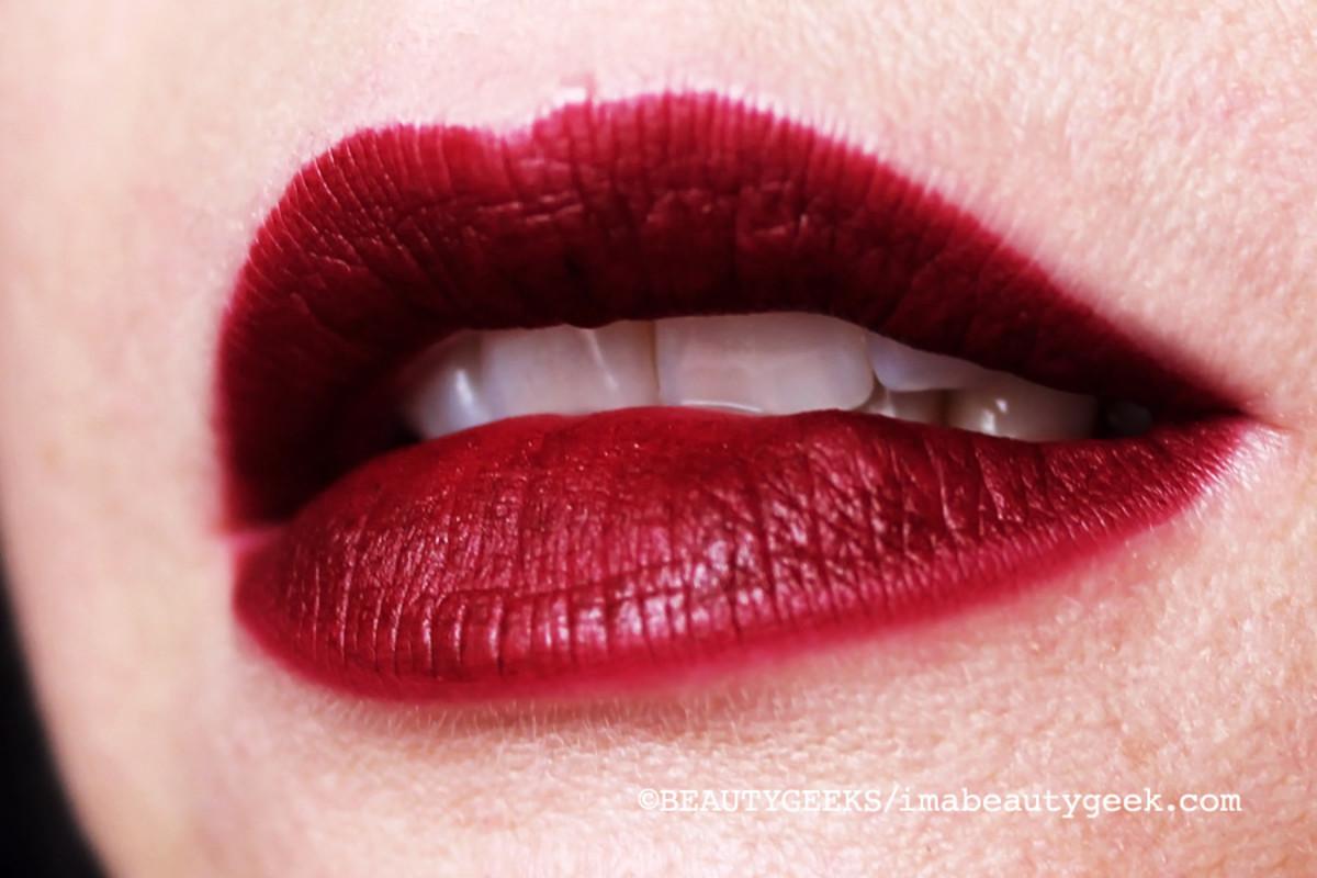 MAC Rocky Horror Picture Show_Sin lipstick