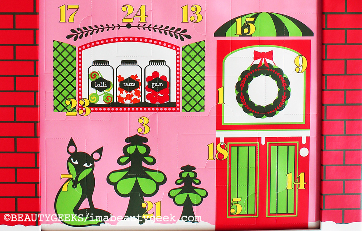 Benefit Advent Calendar 2014_holiday