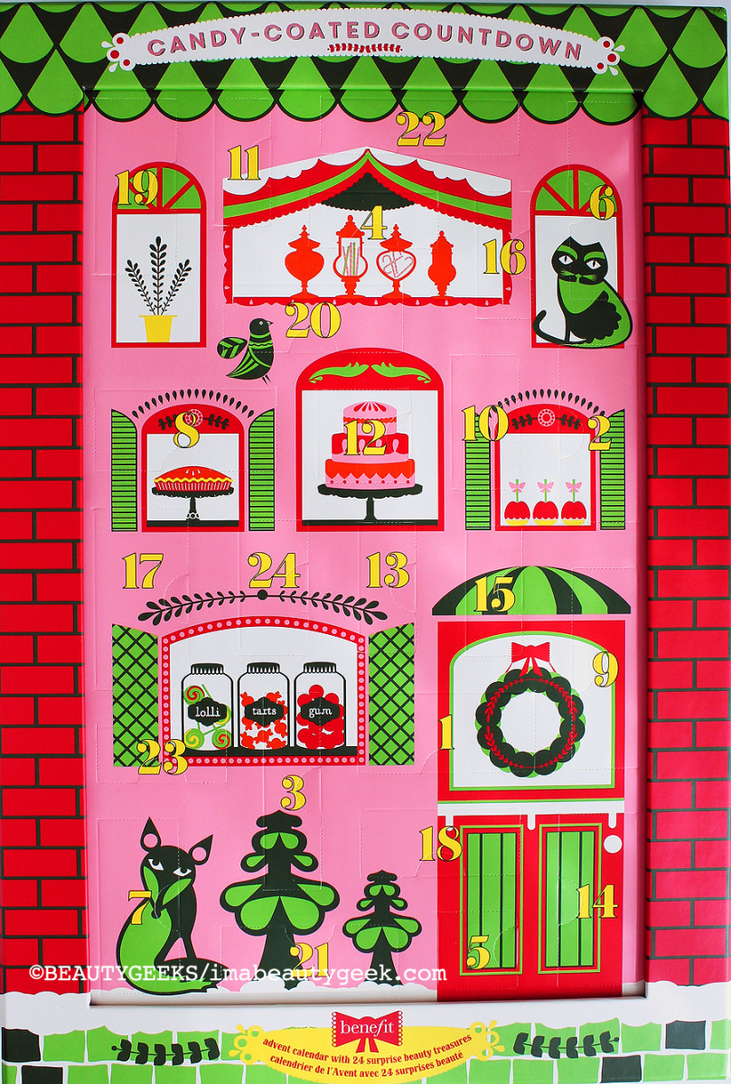 Benefit Advent Calendar 2014 holiday