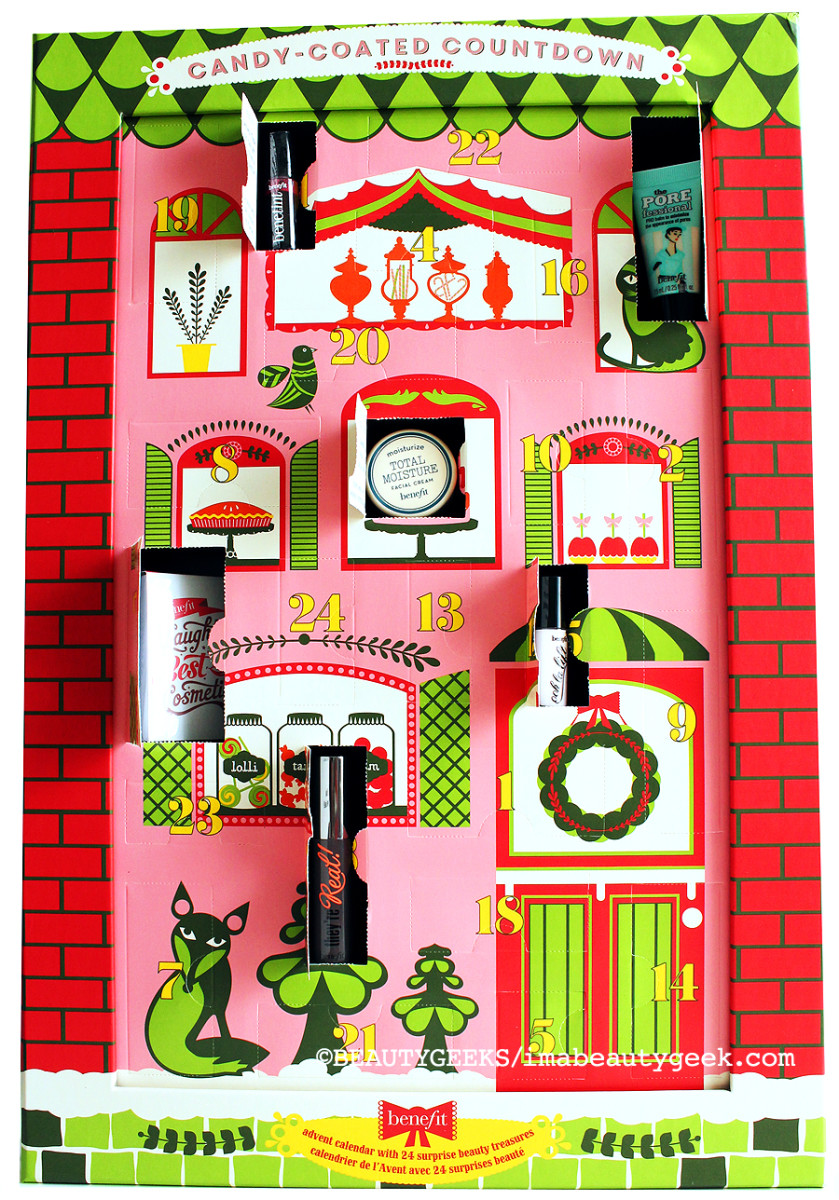 Benefit Advent Calendar_open up