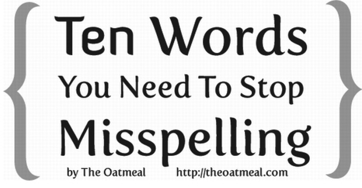 10 Words You Need to Stop Misspelling_header_The Oatmeal