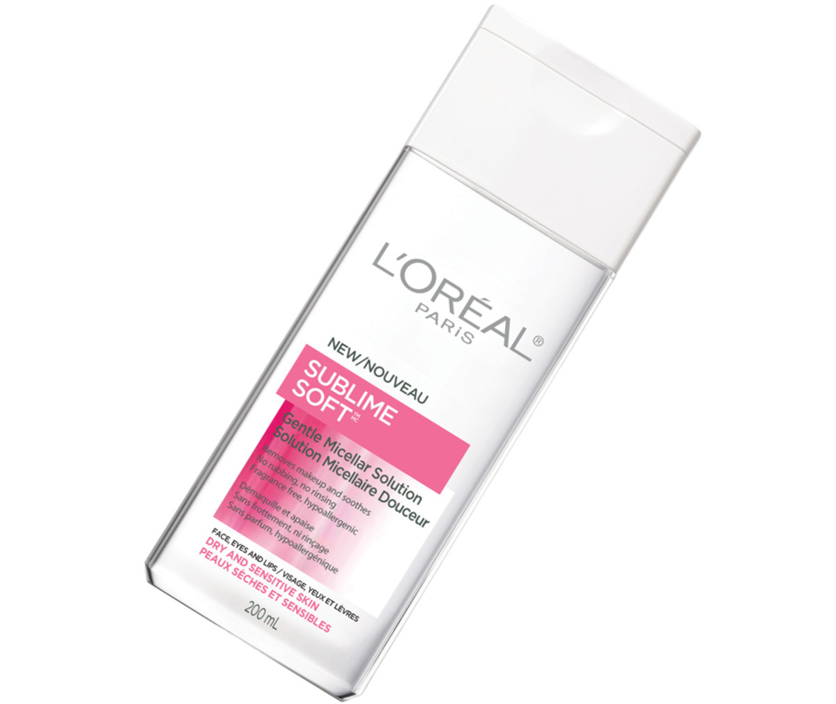 Micellar cleanser that doesn't sting eyes_L'Oreal Paris Sublime Soft Gentle Micellar Solution