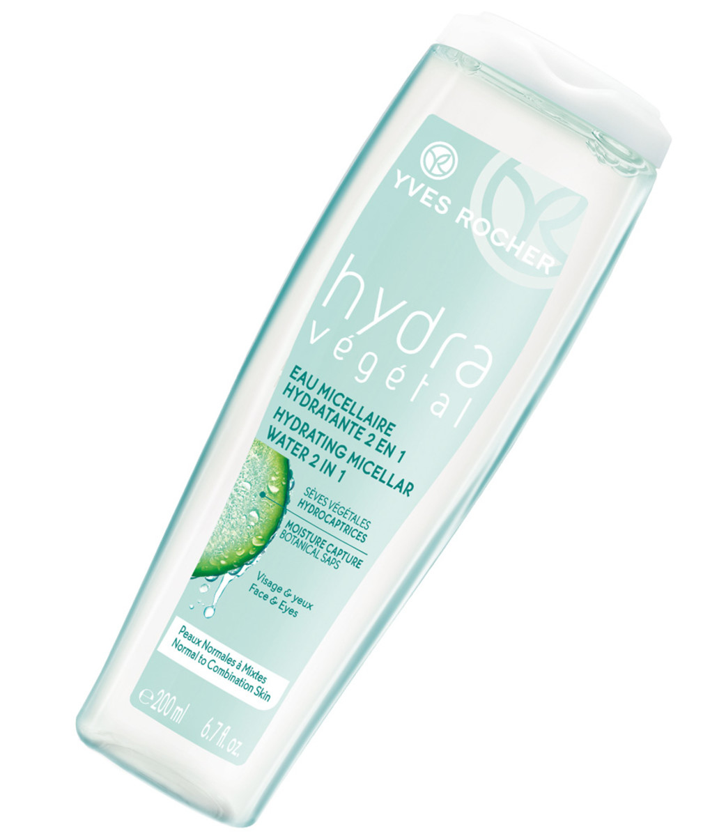 Micellar cleanser that doesn't sting eyes_Yves Rocher Hydra Vegetal Hydrating Micellar Water stings just a bit
