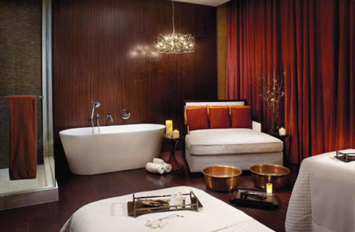 Ritz Carlton double treatment room