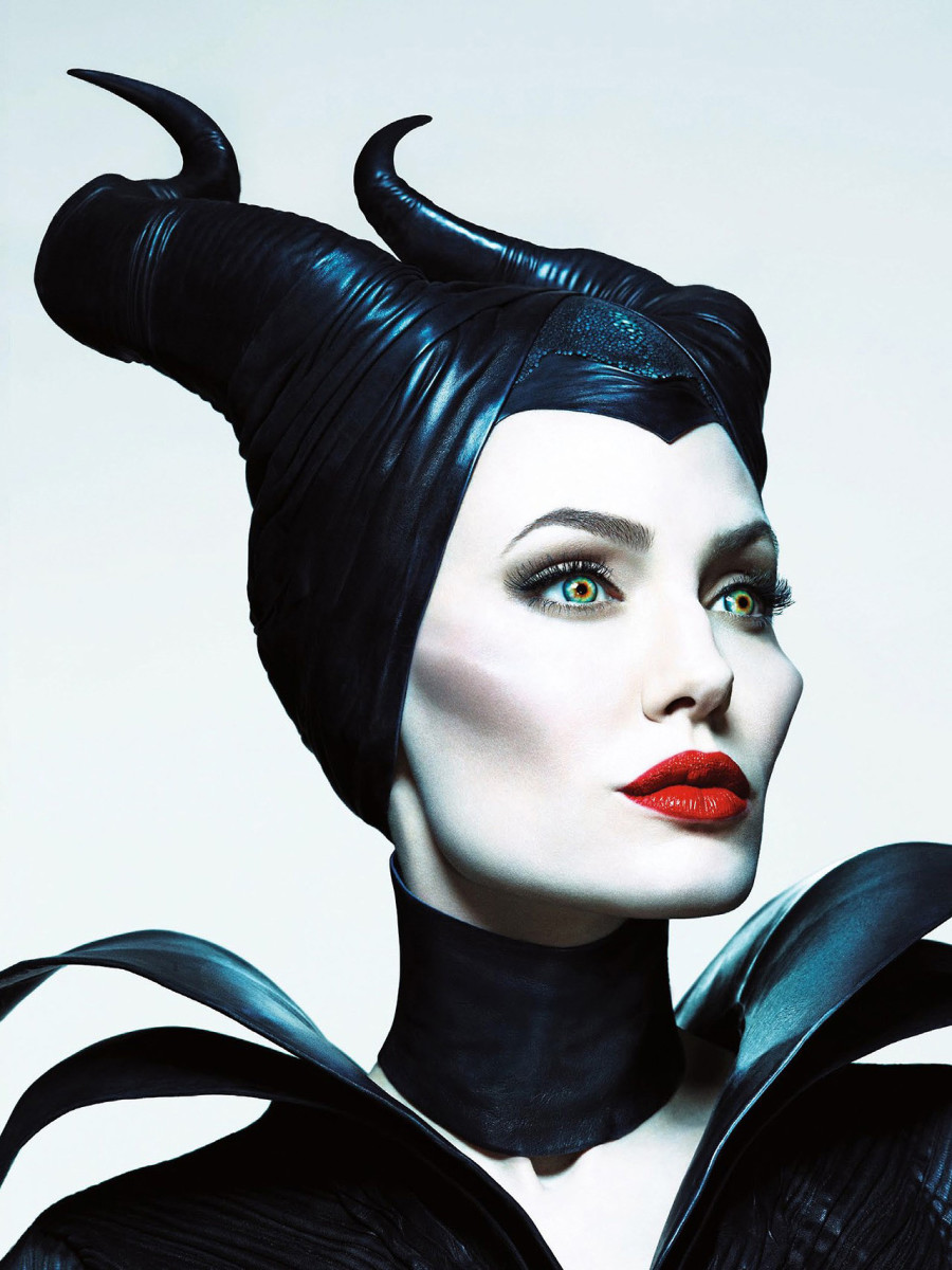 Angelina Jolie's makeup artist on sculpting cheekbones_Maleficent image