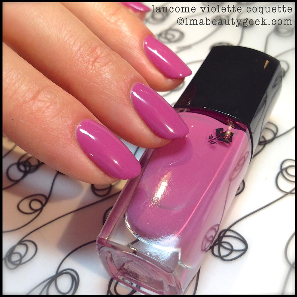 Lancome Violette Coquette_Lancome Vernis in Love